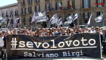 Aeroporto protesta a Palermo_Se volo voto