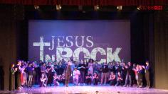 Jesus in rock