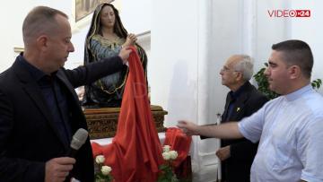 Svelatio statua Maria SS. Addolorata