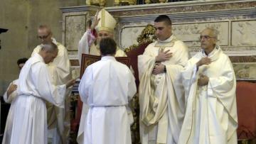 Dedicazione altare Marco Renda Chiesa Madre